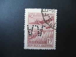 Perforé Perfin Lochung , Argentine   See, à Voir        AA  2 - Otros