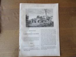 LES MISSIONS CATHOLIQUES DU 20 AOUT 1886 PERSECUTION DANS L'EXTRÊME ORIENT ANNAM,CHINE  SANCIAN CHAPELLE,CONGO LINZOLO - Livres, BD, Revues