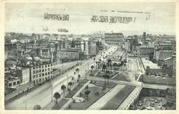 """6942 """" ROMA-VIA DELL'IMPERO VISTA DAL MONUMENTO VITTORIO EMANUELE II """" -CART. POST. ORIG. SPEDITA 1933 - Altri"""