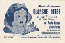 Blanche Neige( Il Faut Voir Et Revoir Au Paris-Palaceet Au Forum ) - Cine & Teatro