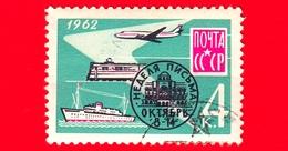 RUSSIA - Usato - 1962 - Settimana Internazionale Della Scrittura Delle Lettere, 1962 - 4 K - 1923-1991 USSR
