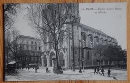 06 : Nice - Eglise Notre-Dame Et Abside - Animée : Petite Animation - (n°17565) - Monuments