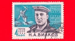 RUSSIA - Usato - 1964 - Eroi Della II Guerra Mondiale - N.A.Vilkov (1918-1945) - 4 - 1923-1991 USSR