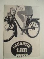 """Cyclomoteur   """"VELOSOLEX 32 800 Francs  """" - Coupure De Presse De 1957 - Motos"""