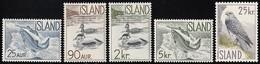 1959-60 Iceland Wildlife Definitives: Salmon, Eider, Gyrfalcon Set (** / MNH / UMM) - Unclassified