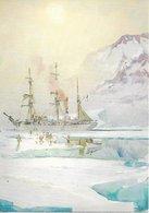L20k073 - Le Pourquoi Pas? Dans Le Scoresby-sund Par Marin-Marie-  Musée De La Marine - Peintures & Tableaux