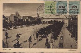 CPA Koln Neumarkt Période Inflation Infla YT 323 324 X2 50 Milliarden Deutsches Reich CAD Koln 25 11 23 - Germany