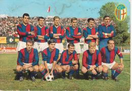 BOLOGNA - SQUADRA CALCIO SERIE A 1965/66 - FOOTBALL TEAM VINTAGE PHOTO POSTCARD - Fútbol