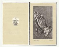 Doodsprentje Maria Philomena SOLS Wed. Frans Vervloet Geel 1882 Rijkevorsel 1964 - Images Religieuses