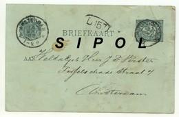 Briefkaart  Voyagée D Amsterdam Vers La France ? Année ? - Cartes