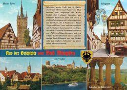 1 AK Germany / Baden-Württemberg * Chronikkarte Der Alten Reichsstadt Bad Wimpfen Am Neckar Mit Wappen * - Bad Wimpfen