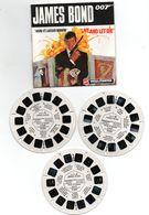 VIEW-MASTER James Bond 007 Vivre Ou Mourir + Livret,rare, Visionneuses Stéréoscopique......B010320 - Visionneuses Stéréoscopiques
