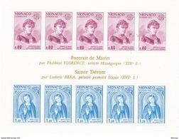 MONACO 1975 EUROPA Yvert BF 10 NEUF** MNH Cote : 55 Euros - Blocks & Kleinbögen