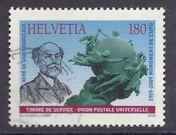 Switzerland / Svizzera / Schweiz 2009 - Universal Postal Union, Monument UPU, Joint Issue With France, Used - Schweiz