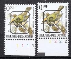 Buzin  PRE * Nr 815 P8 * Plaatnr 1+2 * Postfris Xx - 1985-.. Vögel (Buzin)