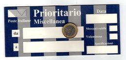P0065 POSTE ITALIANE BLOCCHETTO NON NUMERATO PRIORITARIO MISCELLANEA - Non Classés