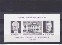 MONACO 1987 OETP Yvert BF 39a ND NEUF** MNH Cote : 54 Euros - Blocks & Kleinbögen
