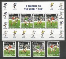 GIBRALTAR - MNH - Sport - Soccer - World Cup - Coppa Del Mondo