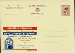 Publibel Neuve N° 2092  ( Assurances  Première Néerlandaise ) Madone Et Enfant + Ange Gabriel - Enteros Postales