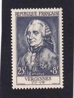 FRANCE 1955 - YT N°1030 - 25 F. + 8 F. Violet - Célébrités Du XIIe Au XXe Siècles - Charles Gravier - Neuf** - TTB Etat - Unused Stamps