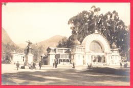 BOGOTA-Edificios De La Exposicion Y Estatua De BOLIVAR - Ann.1910- Rare*  2 SCANS *** - Colombie