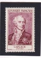 FRANCE 1955 - YT N°1031 - 30 F. + 9 F. Lie De Vin - Célébrités Du XIIe Au XXe Siècles - Pierre Simon - Neuf** - TTB Etat - Unused Stamps