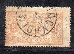 564 490 - SVEZIA 1874, Servizio Unificato N. 1B Dent 14  Usato  (M2200) Difetto Di Trasparenze - Servizio