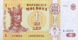 Moldova 1 Leu, P-8 (1994) - UNC - Moldavie