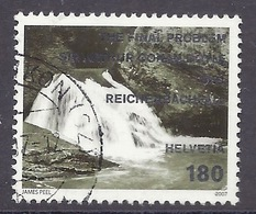 Switzerland / Svizzera / Schweiz 2007 - Landscapes, Paysages, Waterfall, Chute, Wasserfall, Reichenbackfall, Used - Schweiz