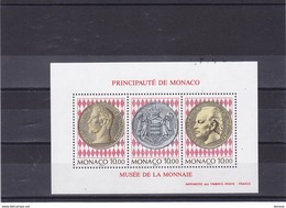 MONACO 1994 MUSEE DU TIMBRE Yvert BF 66 NEUF** MNH Cote : 17 Euros - Blocks & Kleinbögen
