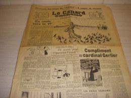 CANARD ENCHAINE 2045 30.12.1959 Brigitte BARDOT BB Boris VIAN BATISSEURS EMPIRE - Política
