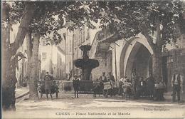 2020 - 03 - BOUCHES DU RHONE - 13 -CUGES - 997 Hab En 1905-  Place Nationale Et La Mairie - Belle Animation - Andere Gemeenten