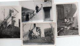 """Gr03V  04 Riez Lot De 4 Photos Annotées """"la Truffe"""" Années 30/40 - Autres Communes"""