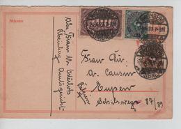 REF42/ Deutsches Reich Infla Ganz.c.Rheinberg 24/4/23 > Belgien Eupen - Deutschland