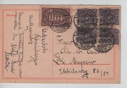 REF43/  Deutsches Reich Infla Ganz.c.Rheinberg 16/5/23 > Belgien Eupen - Deutschland