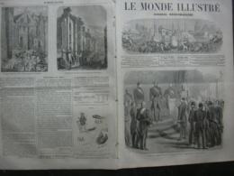 LE MONDE ILLUSTRE 207 GAETE / PECHE AU THON / LINCOLN - Journaux - Quotidiens