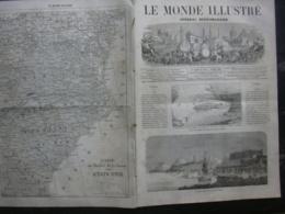 LE MONDE ILLUSTRE 214 ETATS-UNIS / CORFOU/ INCENDIE LIMOGES/ MEXICO - Journaux - Quotidiens