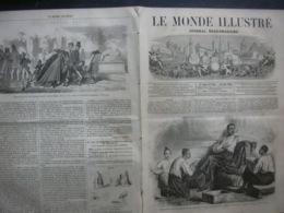 LE MONDE ILLUSTRE 220 AMBASSADEUR SIAM / DOUAI / SYRIE/ ETATS-UNIS /SALON - 1850 - 1899