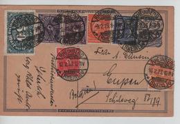 REF45/ Deutsches Reich Ganz.c.Rheinberg 10/2/23 > Belgien Eupen - Deutschland