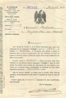 MEAUX  1913 L'AIGLE COMPAGNIE D'ASSURANCES GEORGES CHEVALLIER 15 RUE DE LA CRECHE - France