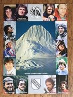(alpinisme, Pérou) Karlsruher Anden Expedition 1981. Expédition Allemande Au Nevado Alpamayo. Etat SUP. - Zugspitze