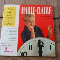 Disque 45 Tours Dans Sa Pochette  D Origine : Marie Claire Cent Idées Pour Vos Soirées Années 1955 / 60 - 45 T - Maxi-Single