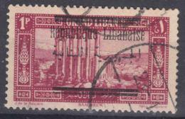 Grand Liban, Great Lebanon 1928 Yvert#100 Used - Used Stamps