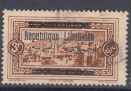 Grand Liban, Great Lebanon 1928 Yvert#103 Used - Used Stamps