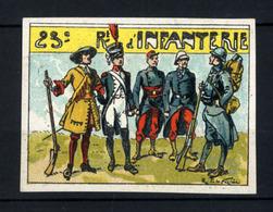 WW1- DELANDRE -  23e Rgt D'Infanterie  - ND - Vignette NEUVE ( Sans Traces De Charnières ) - NMNH - Vignettes Militaires
