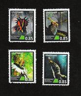 2019-GERMANY Locals -Stuttgart-Dinosaurs-Prehistoric Fauna-(Artistamp/Cinderella) - Vignetten (Erinnophilie)