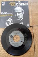 Disque 45 Tours Dans Sa Pochette  D Origine : Le  Bande Originale  Du Film Le Parrain Années 1955/60 - 45 T - Maxi-Single
