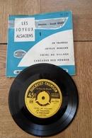 Disque 45 Tours  Dans Sa Pochette D Origine  Les Joyeux Alsaciens  4 Titres Années 1955 /60 - 45 T - Maxi-Single