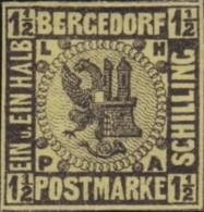 Bergedorf    .    Michel     .  3  .      *   .   Ungebraucht Mit Gummi  . /   .    Mint-hinged - Bergedorf