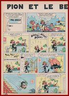 Pion Et Le Best-seller. Bande Dessinée De 1965. Scénario Jacques Acar. Dessins De Hugo. Histoire Complète. - Vieux Papiers